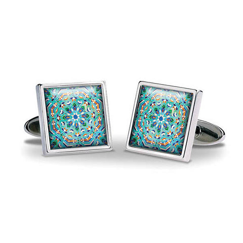 Marrakesh Girih Cuff Links