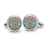 Marrakesh Red Cuff Links