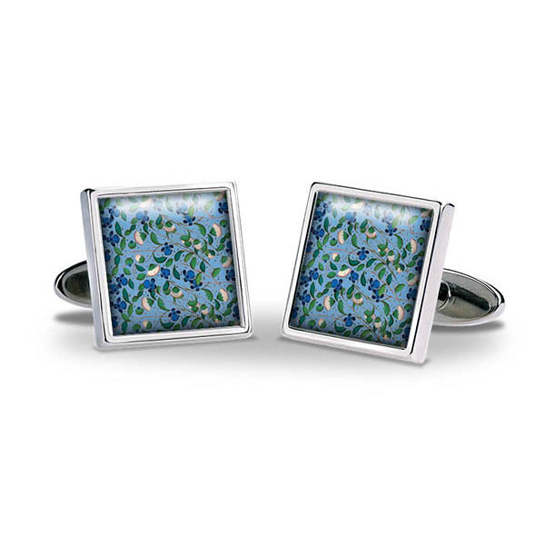 Medieval Flowers Cuff Links