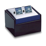 Monet Waterlilies Cuff Links in box