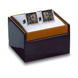 Morris Black Cuff Links in box