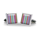 Multistripe Cuff Links