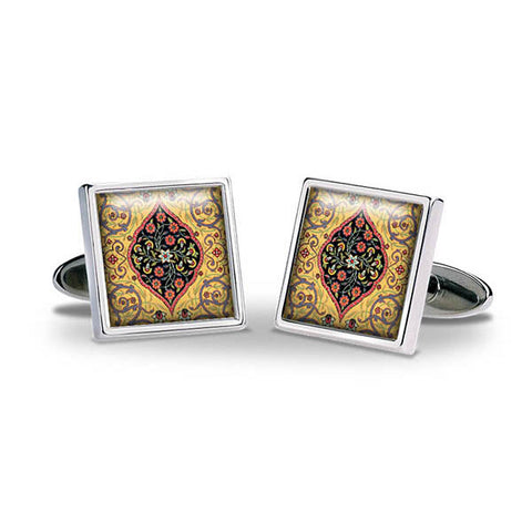 Persian Lozenge Cuff Links