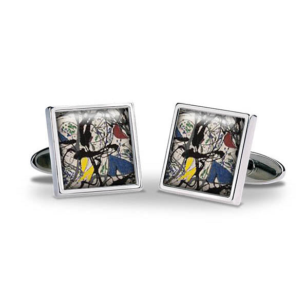 Pollock Summertime Cuff Links