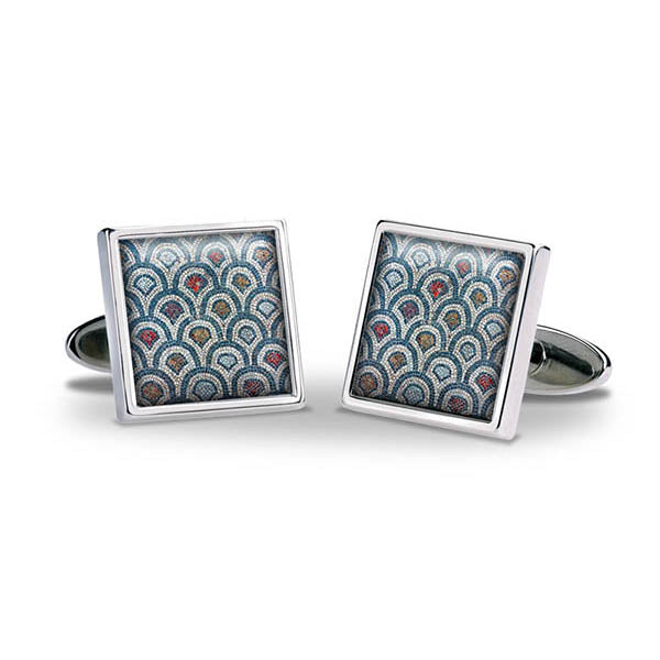 Rhodes Mosaic Cuff Links
