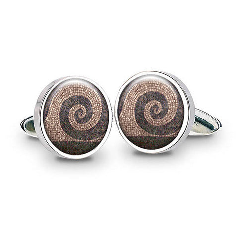 Roman Mosaic Cuff Links
