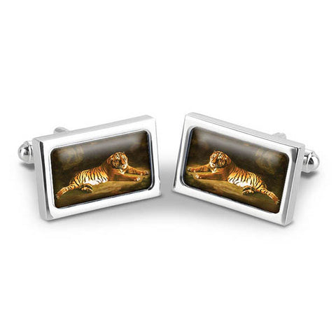 Stubbs Tiger Cuff Links