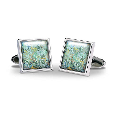 Van Gogh Wheatfield Cuff Links