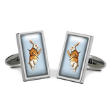 White Rabbit Cuff Links