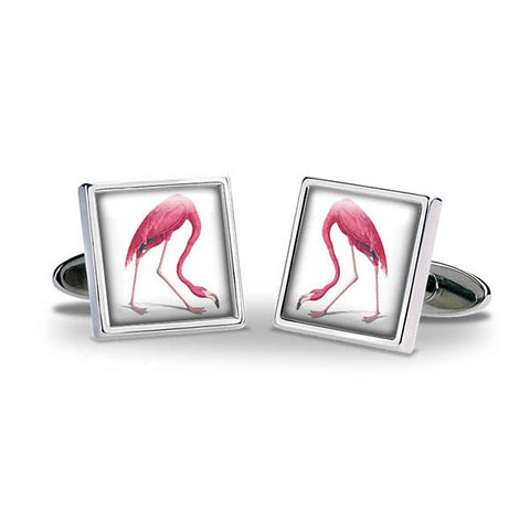 Aubudon Flamingo Cuff Links