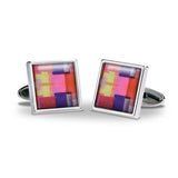 Collage Cuff Links