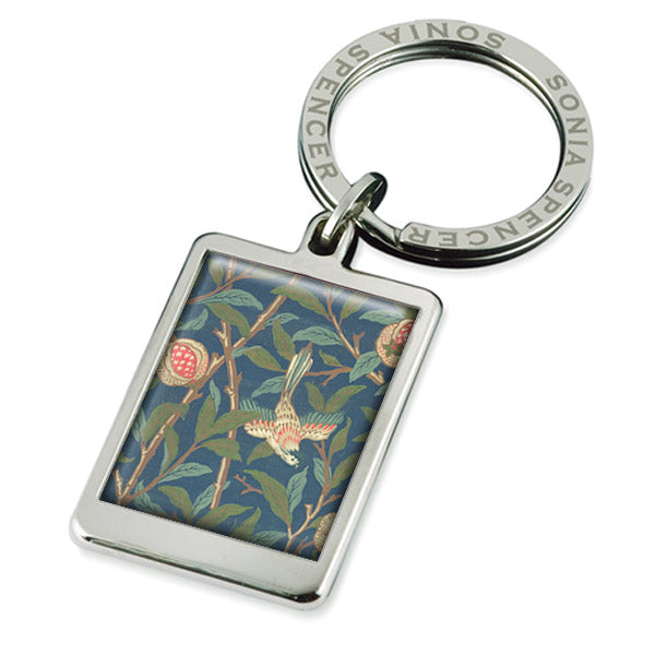 Morris Blue Fruit Keyring