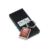 Aged To Perfection Crown Keyring with box