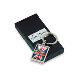 Aged To Perfection Flag Keyring with box