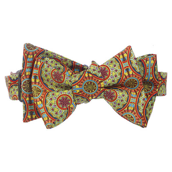 Adam Burnt Orange Bow Tie