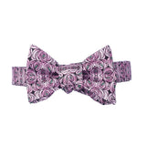 Mackintosh Rose & Teardrop Bow Tie