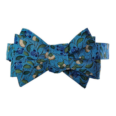 Medieval Flowers Bow Tie