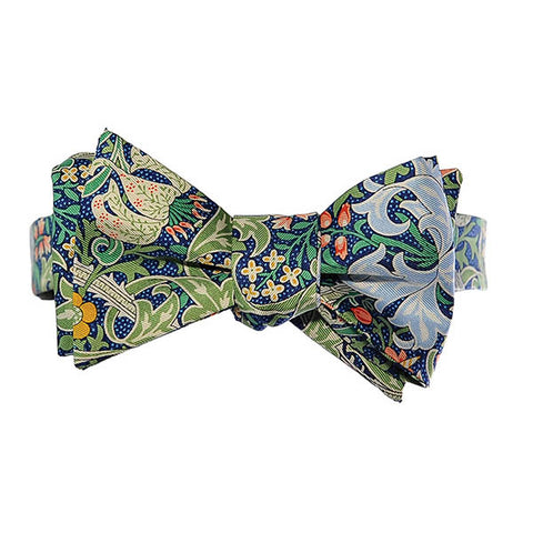 Morris Golden Lily Bow Tie