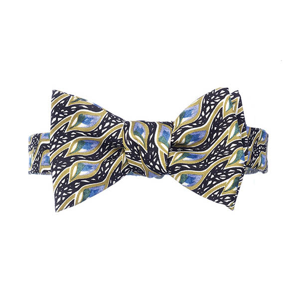 Mackintosh Peacock Eyes Bow Tie