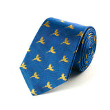 Flying Pheasant Royal Blue Silk Tie