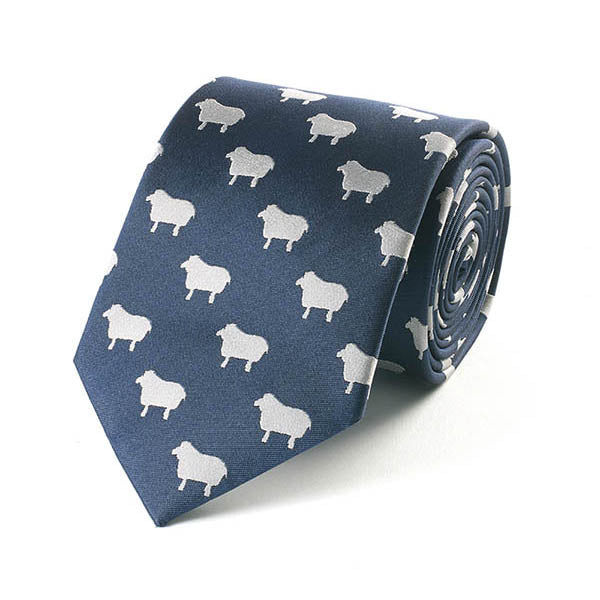Sheep Silk Tie
