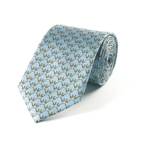 Bryn Parry Pheasants Silk Tie