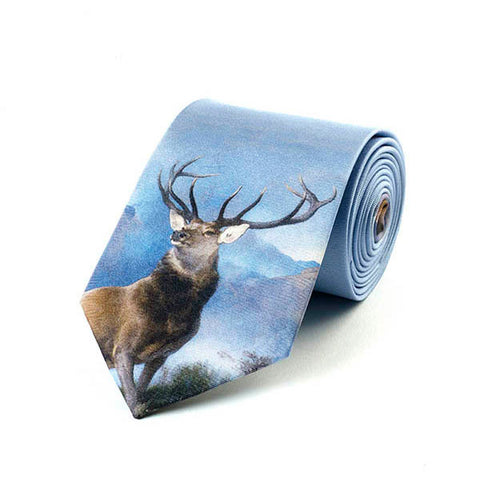Monarch of the Glen Silk Tie