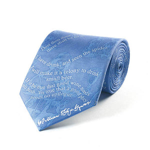 Shakespeare Drinking Silk Tie