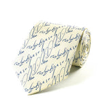 Shakespeare Signature Silk Tie