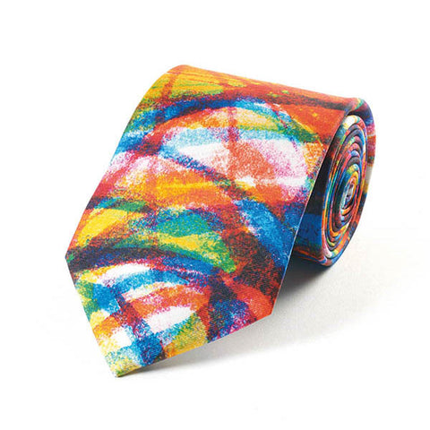 Colour Swirl Silk Tie