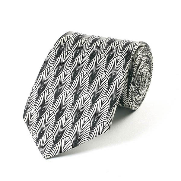 Deco New York Silk Tie