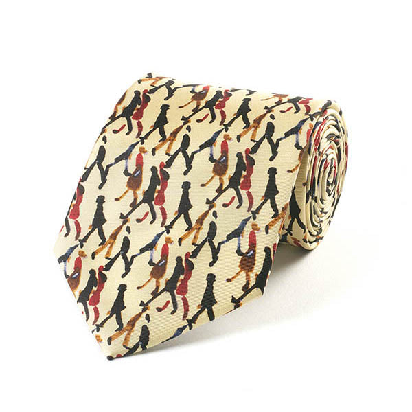 Going to Work Silk Tie