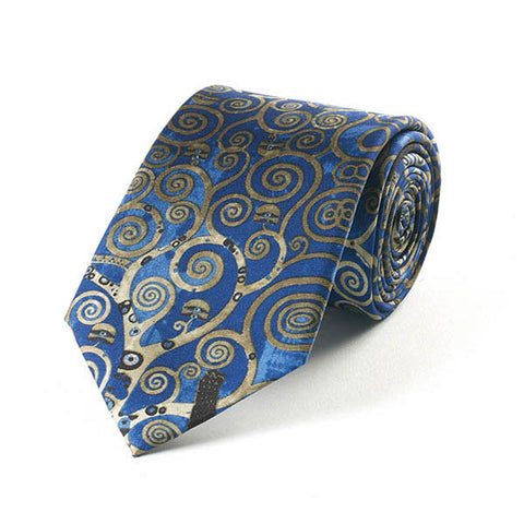 Klimt Tree of Life Silk Tie