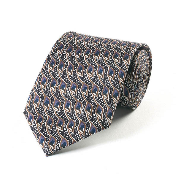 Mackintosh Peacock Eyes Silk Tie