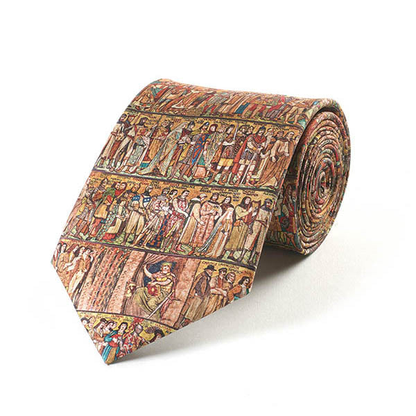 Medieval Frieze Silk Tie