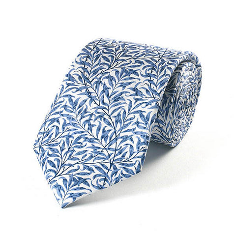 Morris Willow Boughs Silk Tie