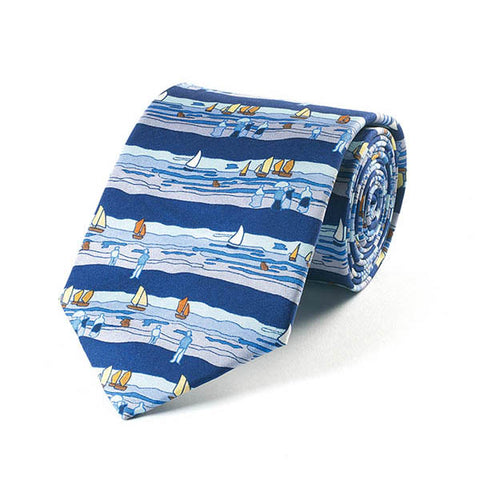 Boudin Seaside Silk Tie