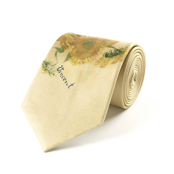 Van Gogh Sunflowers Silk Tie
