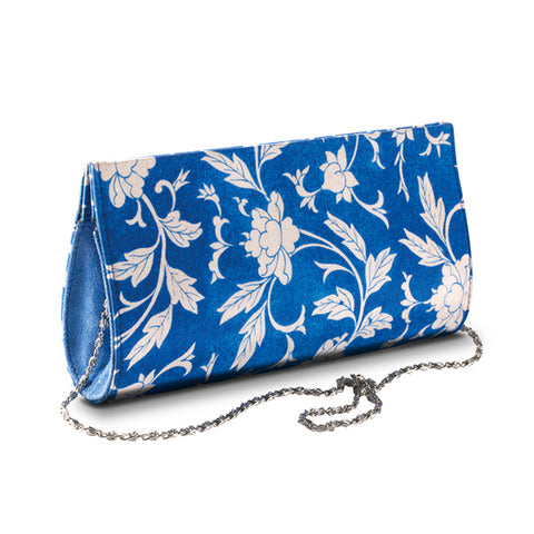 Chinoiserie Silk Clutch Bag