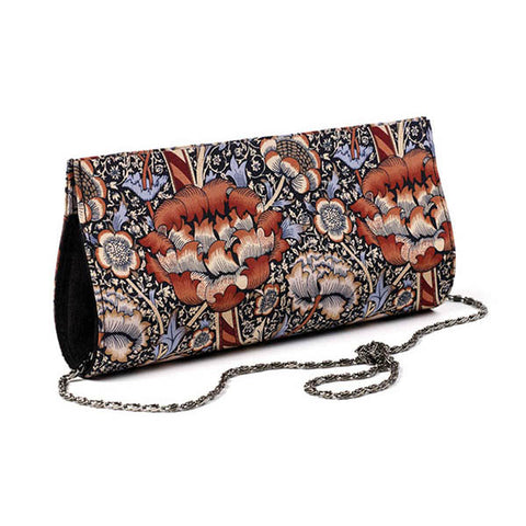 Morris Wandle Silk Clutch Bag