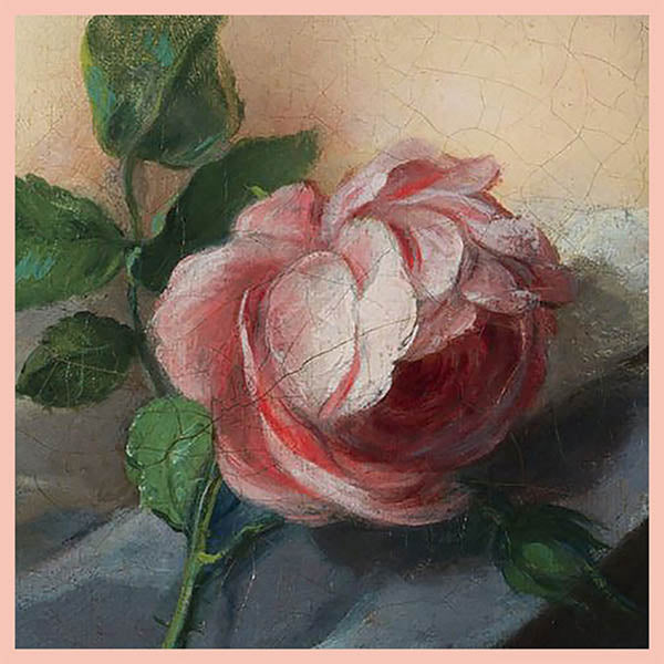 Nattier Roses Silk Square