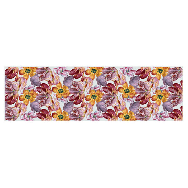 Dutch Tulips Chiffon Scarf Flat