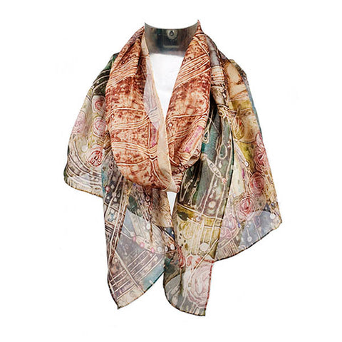 Macdonald Sleeping Princess Chiffon Scarf