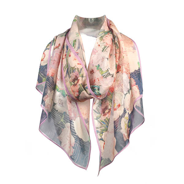 Mackintosh Pinks Chiffon Scarf