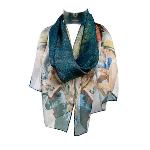 Renoir Boating Party Chiffon Scarf