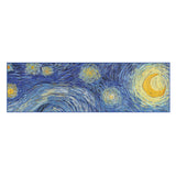 Van Gogh Starry Night Chiffon Scarf Flat