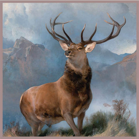 Monarch of the Glen Silk Square