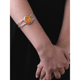 Klimt Red Bangle - worn