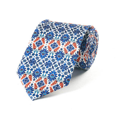 Islamic Starburst Silk Tie