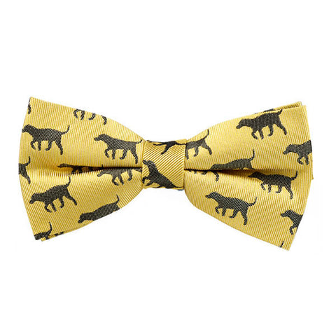 Black Lab Bow Tie